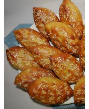 Пирожки из муки ВЛ кукурузы