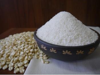 Крупа белой кукурузы №4  . Фасованная